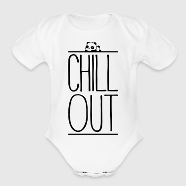 Chill Out - Organic Short Sleeve Baby Bodysuit