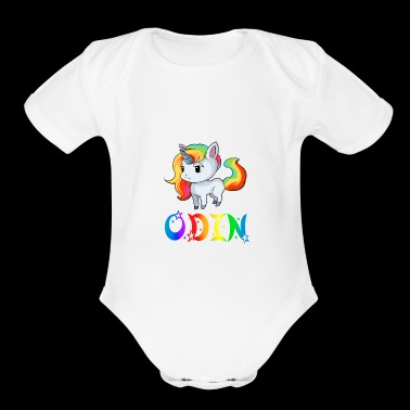 Odin Unicorn - Short Sleeve Baby Bodysuit
