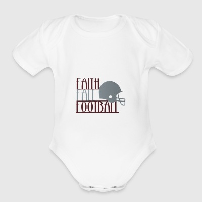 Texas football - Short Sleeve Baby Bodysuit