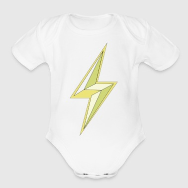 lightning - Short Sleeve Baby Bodysuit