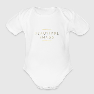 Beautiful Chaos - Short Sleeve Baby Bodysuit