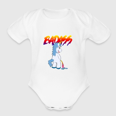 badass2 - Short Sleeve Baby Bodysuit