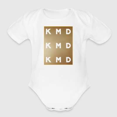 KMD Gold - Short Sleeve Baby Bodysuit