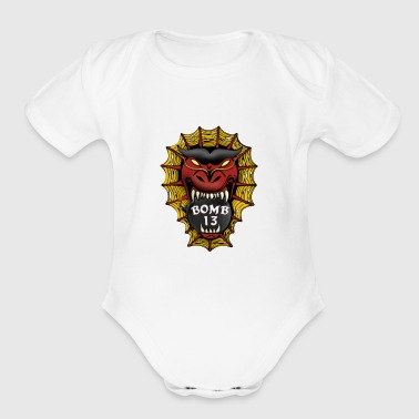 Bomb 13 - Short Sleeve Baby Bodysuit