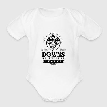 DOWNS - Short Sleeve Baby Bodysuit
