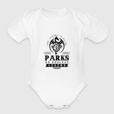 PARKS - Short Sleeve Baby Bodysuit