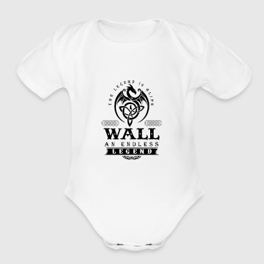 WALL - Short Sleeve Baby Bodysuit