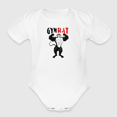 Gym Rat - Short Sleeve Baby Bodysuit