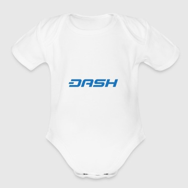 DASH coin - Short Sleeve Baby Bodysuit