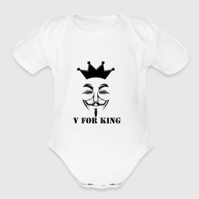 KingFawkes - Short Sleeve Baby Bodysuit