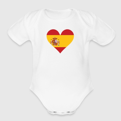 Just A Little Spanish - Short Sleeve Baby Bodysuit