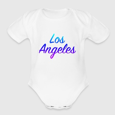 Los Angeles - Short Sleeve Baby Bodysuit