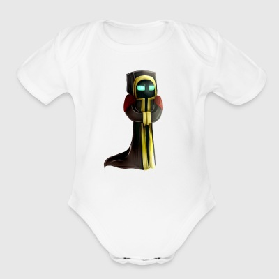MineOps Drawing - Short Sleeve Baby Bodysuit