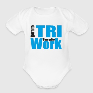 Triathlon - Short Sleeve Baby Bodysuit