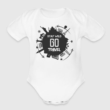 Go Travel - Short Sleeve Baby Bodysuit