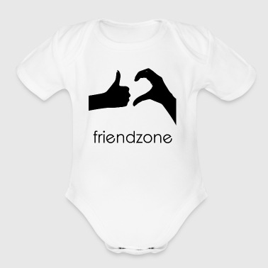FRIENDZONE - Short Sleeve Baby Bodysuit