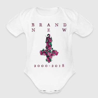Brand New Farewell Cross - Short Sleeve Baby Bodysuit