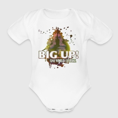 Line Up One World Festival Bonn 2017 - Short Sleeve Baby Bodysuit