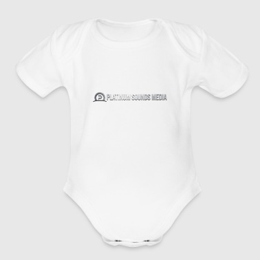 PSM Original Logo 3D - Short Sleeve Baby Bodysuit