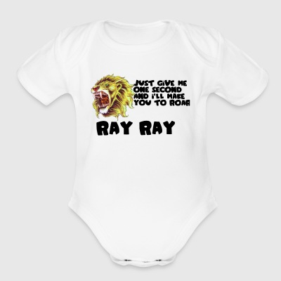 Roar - Short Sleeve Baby Bodysuit