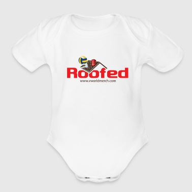 Roofed - Short Sleeve Baby Bodysuit