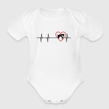 highjump design - Short Sleeve Baby Bodysuit