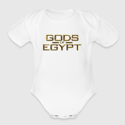 gods-of-egypt - Short Sleeve Baby Bodysuit