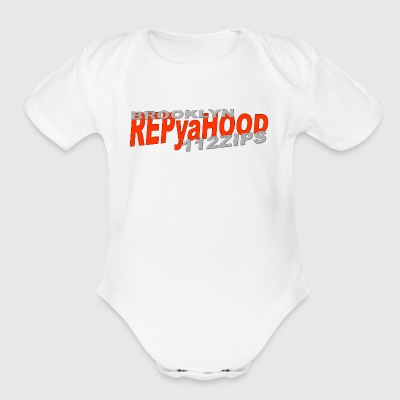 BROOKLYN NY - Short Sleeve Baby Bodysuit