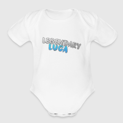 LegendaryLuca - Short Sleeve Baby Bodysuit