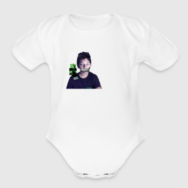 halloween merch - Short Sleeve Baby Bodysuit