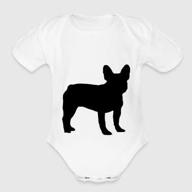 French Bulldog - Short Sleeve Baby Bodysuit