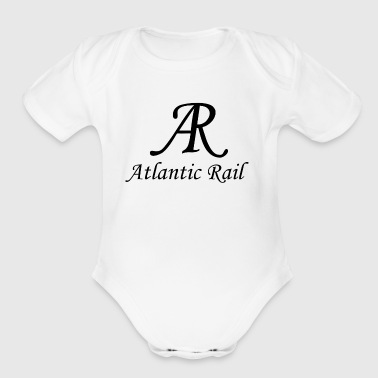logo big - Short Sleeve Baby Bodysuit