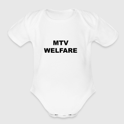 MTV Welfare - Short Sleeve Baby Bodysuit
