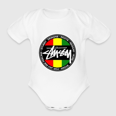 Reggae - Short Sleeve Baby Bodysuit