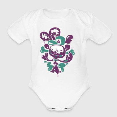 Captain Chomba - Short Sleeve Baby Bodysuit