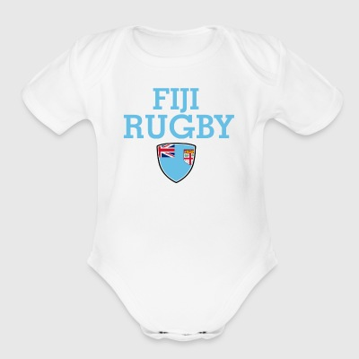 fiji design - Short Sleeve Baby Bodysuit