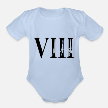 Final Fantasy Viii Final VIII - Organic Short-Sleeved Baby Bodysuit
