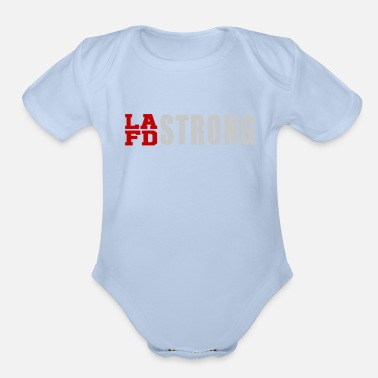 Lafd Strong LAFD Strong - Organic Short-Sleeved Baby Bodysuit