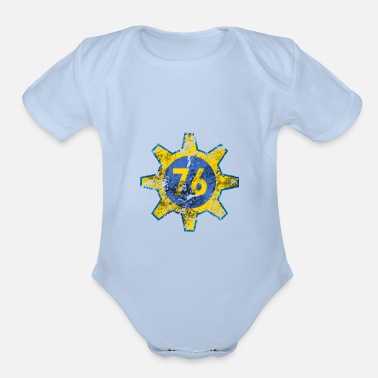 Waste Radioactive Vault Gear 76 Gamer Nuclear Wasteland - Organic Short-Sleeved Baby Bodysuit