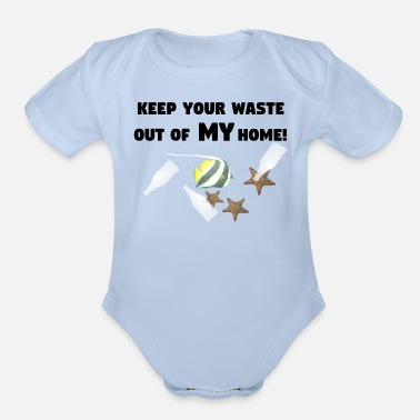 Protection Of The Environment Environment protection - Organic Short-Sleeved Baby Bodysuit
