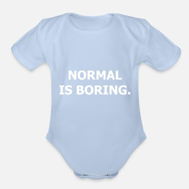 Cool Quote Cool Quote - Cool Saying - Gift - Organic Short-Sleeved Baby Bodysuit