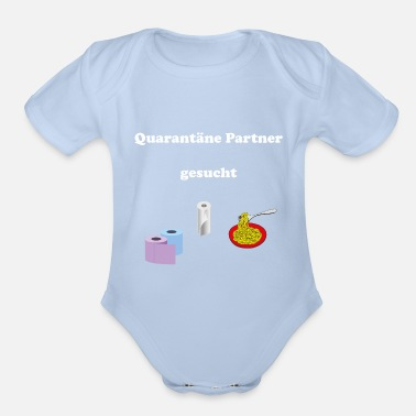 Wc Quarantaene Partner gesucht - Organic Short-Sleeved Baby Bodysuit