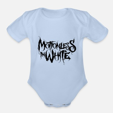 Motionless In White - Organic Short-Sleeved Baby Bodysuit