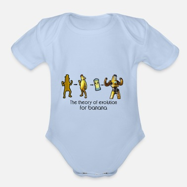 Game the theory of evoluion - Organic Short-Sleeved Baby Bodysuit