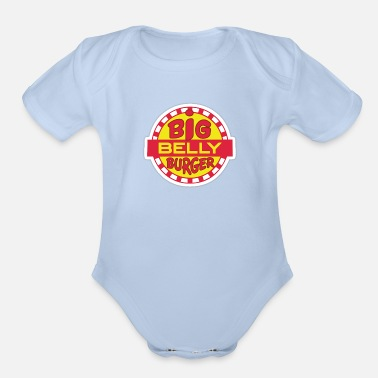 Big Big Belly Burger - Organic Short-Sleeved Baby Bodysuit