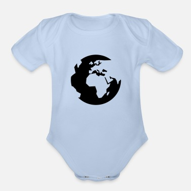 Global global - Organic Short-Sleeved Baby Bodysuit