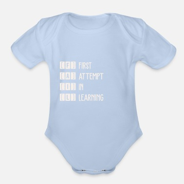 Fail FAIL - Organic Short-Sleeved Baby Bodysuit