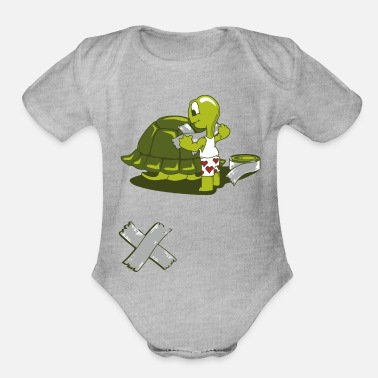 Home Improvement Funny Home Improvement - Organic Short-Sleeved Baby Bodysuit