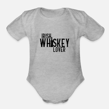 Whiskey Whiskey - Organic Short-Sleeved Baby Bodysuit
