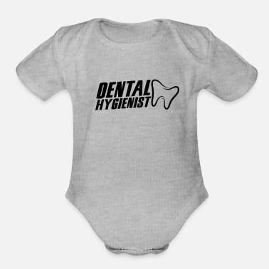 Hygienist Dental Hygienist - Organic Short-Sleeved Baby Bodysuit